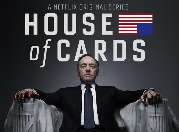 House of Cards, inmenso Kevin Spacey
